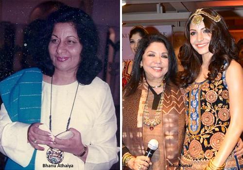 Fashion events in India_Earliest Fashion Designers_Bhanu Athaiya_Ritu Kumar_Amazing facts_Figures