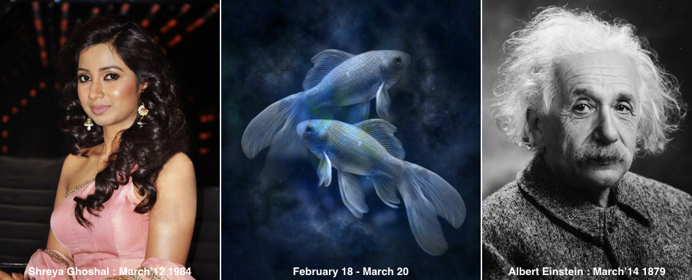 What does your Zodiac Sign say about your Health_Problem Areas and Nutrition Advice_Pisces_Shreya Ghoshal_Albert Einstein