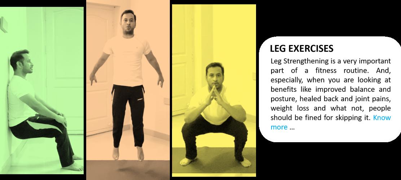 Leg Strengthening Exercises at Home